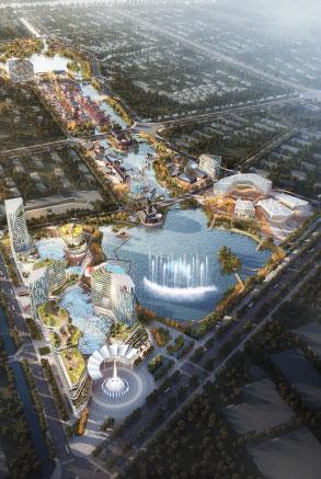 富康城扬州城市新中心